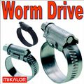 Mikalor W2 W3 W4 Worm Drive Hose Clips & Clamps